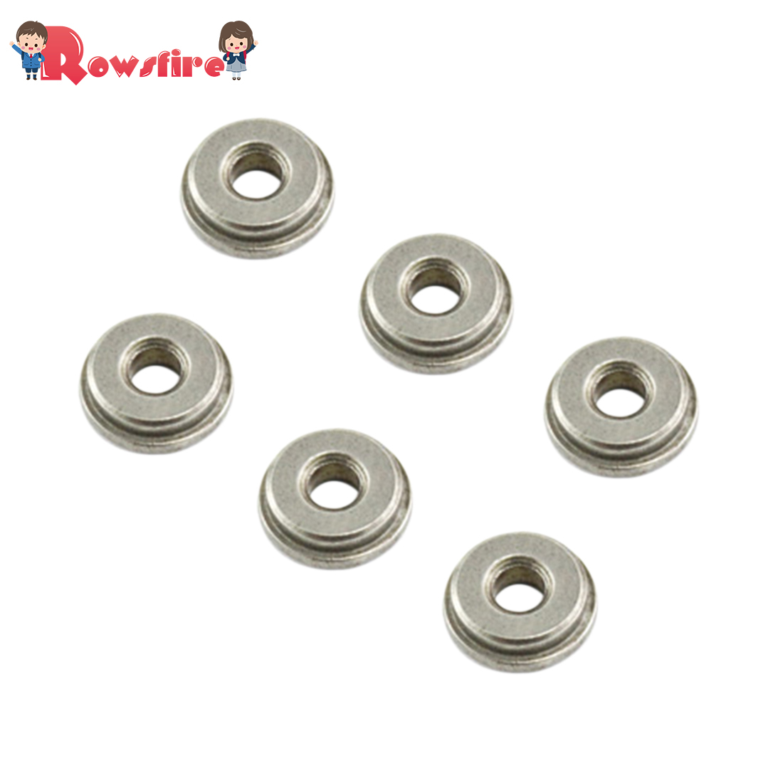 DIY 8mm SHS Steel Oil Tank Bushings For Metal Gearbox Modification Not Suit For Water Bomb Box