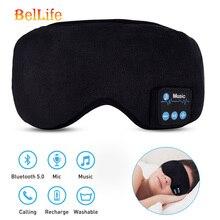 New 2019 Wireless Stereo Bluetooth Earphone Sleep Mask Phone Headband Sleep Soft Earphones For Sleeping Eye Mask Music Headset