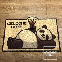 Corredor de entrada boa vinda capacho retângulo impresso antiderrapante tapetes de assoalho da porta da frente tapete ao ar livre quarto cozinha tapete