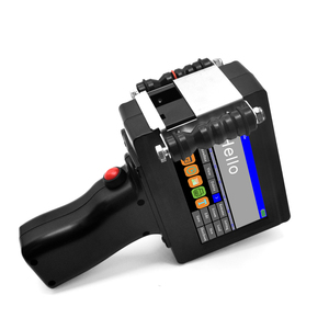 Image 2 - Smart Portable Handheld Inkjet Drucker Schnell trocknend 600DPI Label Druck Maschine, touchscreen für Datum LOGO Barcode QR Code Drucken