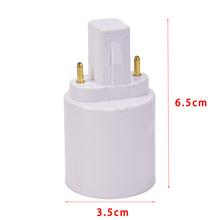 Nowy G23 do E27 E26 podstawa gniazda LED żarówka halogenowa Adapter lampy konwerter tanie tanio CN (pochodzenie) G23 To E27 E26 Base Socket