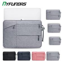 Housse en sac de 13.3 pouces avec poignée antichoc pour ordinateur portable, étui pour iPad Air 2 10.2 11 et Pro 12.9, tablette, Apple 2019