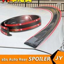 Универсальный Спойлер на крышу 1,5 м, автомобильный Стайлинг, спойлер из углеродного каучука 5D, задний спойлер из полиуретана, пайка, сделай с...