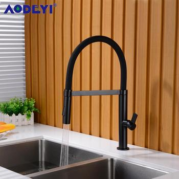 kitchen faucet pull out flexible shower mixer tap black gourmet sink faucets single lever brass white hot and cold water taps ulgksd kitchen faucet black brass pull out sprayer vessel sink faucet deck mounted hot and cold vanity faucets mixer water taps