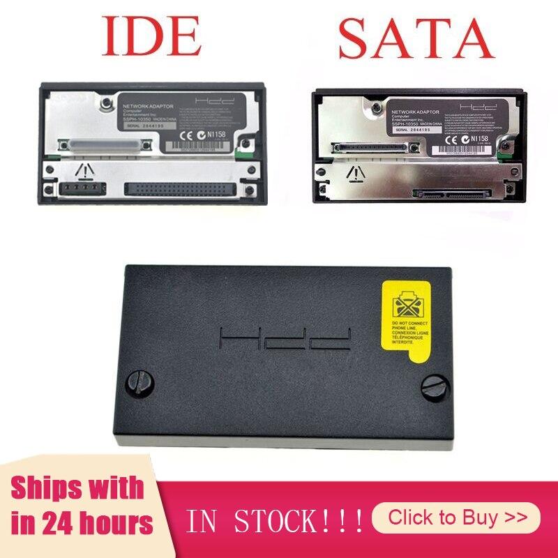 ソニーのプレイステーション 2 脂肪sataネットワークアダプタアダプタソニーPS2 脂肪ゲームコンソールideソケットhdd SCPH-10350 sataソケット