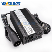 48V 10A מטען 48V 10 Amp עופרת חומצת סוללה מטען עבור 48V מועדון רכב גולף עגלת פלט 55.2V