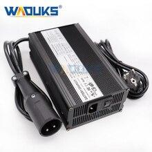 48V 10A ładowarka 48V 10 Amp ładowarka do akumulatora kwasowo ołowiowego do 48V Club samochód wózek golfowy wyjście 55.2V