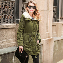 parka women coat boho plus siz jacket korean womens winter coats 2018 pink clothing black fahsion zipper long solid polyester