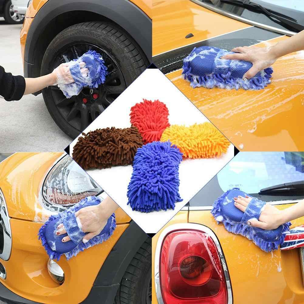 רכב ניקוי מברשת לניקוי כלים מיקרופייבר סופר נקי רכב Windows ניקוי ספוג מוצר בד מגבת לשטוף כפפות אוטומטי מכונת כביסה