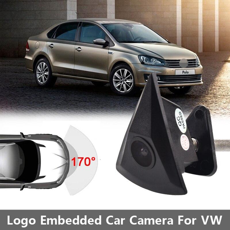 HD Car CCD Front View Camera For VW Passat B5 B6 B7 Tiguan Golf MK5 MK6 Touran Polo Sedan Beetle