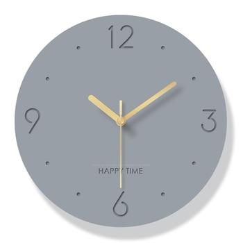 Creative Nordic Bedroom Modern Wall Clock Analog Modern Design Wall Clocks Decorative Watch Wall Watches Home Decor 2020 II50BGZ