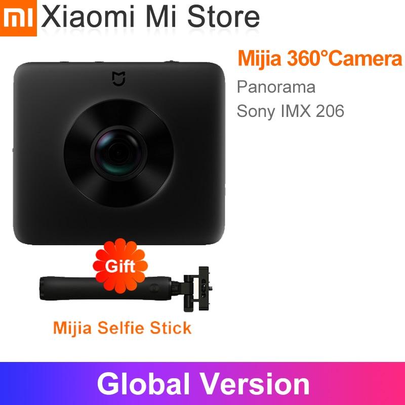 Xiaomi Mijia 360 ° caméra de voyage panoramique enregistrement IP67 note WiFi Bluetooth Mini 3.5K vidéo Sport caméscope
