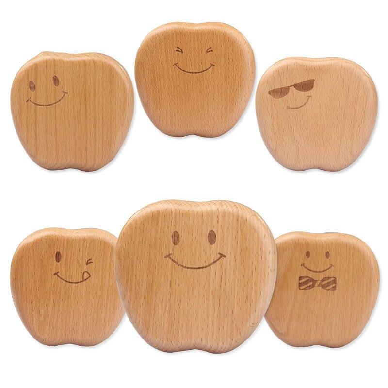 Baby Wood Teeth Box Save Teeth Organizer Baby Milk Teeth Children Teeth Collect Tooth Fairy Wooden Girl Boy Tooth Box 3-6years