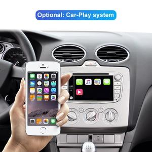 Image 3 - Isudar автомобильный мультимедийный плеер Android 10 GPS Авторадио 2 Din для FORD/Focus/Mondeo/S MAX/C MAX/Galaxy RAM 4 Гб 64 Гб радио DSP DVR
