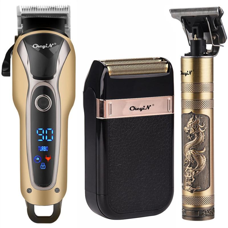 Tondeuse à cheveux professionnelle électrique rechargeable, outliner, machine de coiffeur pour barbe sans fil, pour couper la finition