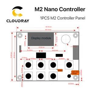 Image 5 - Cloudray controlador láser Nano LIHUIYU M2, Tablero Principal madre + Panel de Control + sistema Dongle B, cortador de grabado DIY 3020 3040 K40