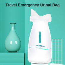 Urinate-Bags Mobile Toilet Travel Outdoor Mini Women/men Emergency for 4PCS 700ml