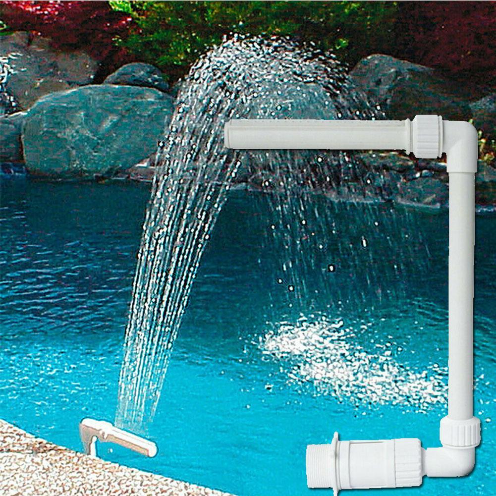 Piscinas de Água Spray de Água ao ar Piscina Acessórios Cachoeira Fonte Temp Fresco Ajustável Durável Livre Decoração