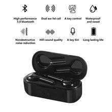 Ear headphones Bluetooth 5.0 Earphones Mini Wireless Headset Earphones Sports Headset Waterproof Sport Earphones
