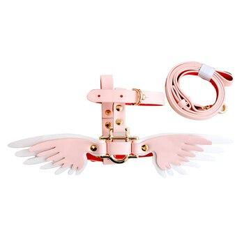 Harnais à ailes blanc