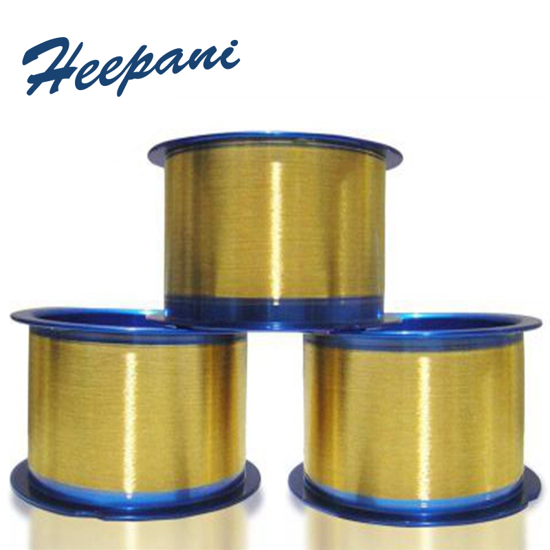 Free Shipping 99.99% Purity Solid Gold Wire Au D0.05mm - D3mm Customize Length Gold Silk For Research
