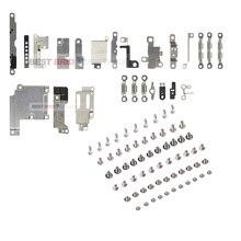 1set di Accessori Interni per il iPhone 5 5S 6 6s 7 PlusInside Piccolo Metallo Parti di Supporto Della Staffa Scudo piastra Set Kit + Full vite