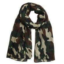 Châtain de Camouflage pour femmes, Écharpes vertes de l'armée, mode pour femmes, nouvelle collection 2021