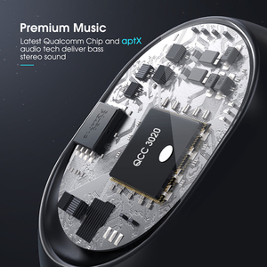 Image 2 - Mpow T5/M5 TWS بلوتوث 5.0 سماعة ثلاثية الأبعاد ستيريو لاسلكي يدوي سماعات AptX سماعات أذن IPX7 مقاوم للماء مع 42 ساعة وقت اللعب