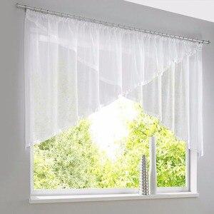 Sheer Voile Triangular Curtain