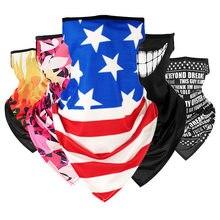 アメージングマジックスカーフ屋外乗馬釣りスカーフ吊り耳通気性速乾性の三角スカーフ夏のファッション