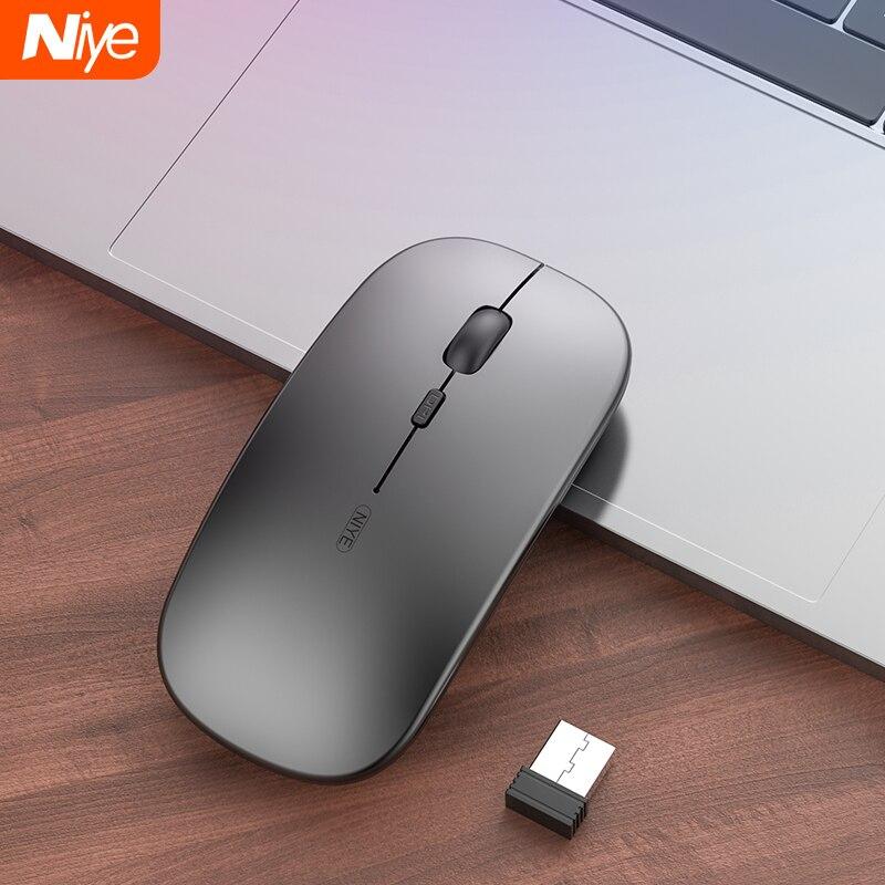 Беспроводная мышь геймер компьютерная мышь Беспроводная игровая мышь эргономичная Mause 4 кнопки USB оптическая игровая мышь для компьютера ПК...