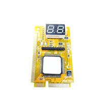 PC Mainboard Analyzer Display Diagnostic Card Motherboard Fault Post Tester Mini Pci-E LPC PC Analyzer For Computer Main board