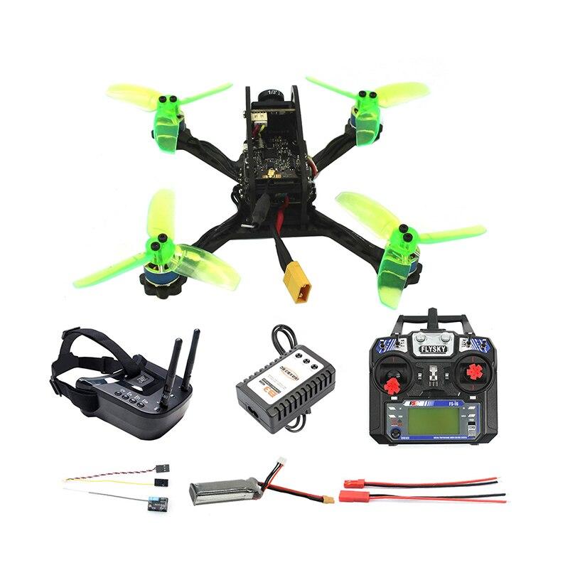 135mm RC FPV course Drone quadrirotor Mini F3 OSD 2S 10A 7500KV sans brosse 2.4G 6ch BNF RTF Combo ensemble 1200TVL HD caméra lunettes