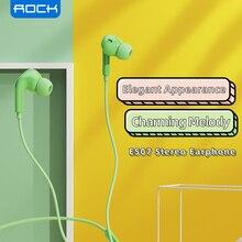 روك 3.5 مللي متر في الأذن سماعة ل شاومي ستيريو باس سماعة مع ميكروفون السلكية الموسيقى سماعة للهاتف سامسونج فون الأذن