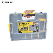 Stanley removable dividers plastic organizer box small parts compartment case storage containers for small things screw tool bit