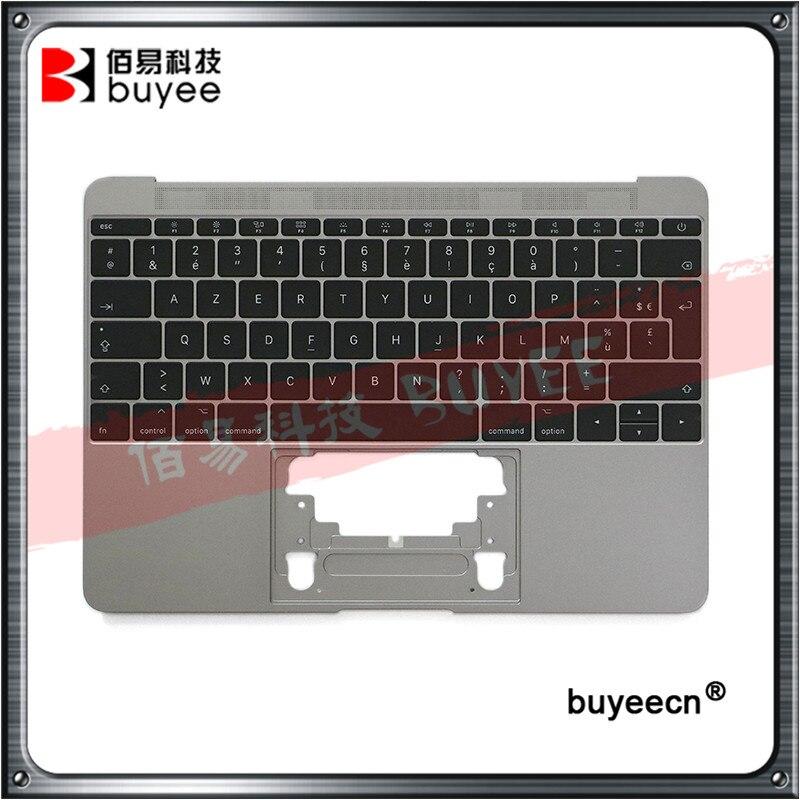 Véritable nouveau A1534 repose-paume Topcase royaume-uni clavier 2016 pour Macbook Air Retina 12