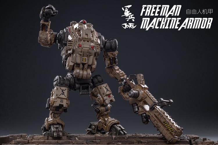 JoyToy 1//18 Desert Color Freeman Machine Armor Robot Model /&Driver Action Figure