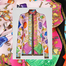 Twill polyester fabric cloth meter material soft printed shirt dress sewing garment handmade fabric alibaba express