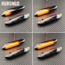 2 peças led marcador lateral dinâmico turn signal light indicador blinker lâmpada de sinal para bmw e90 e91 e92 e93 e60 e87 e82 e46