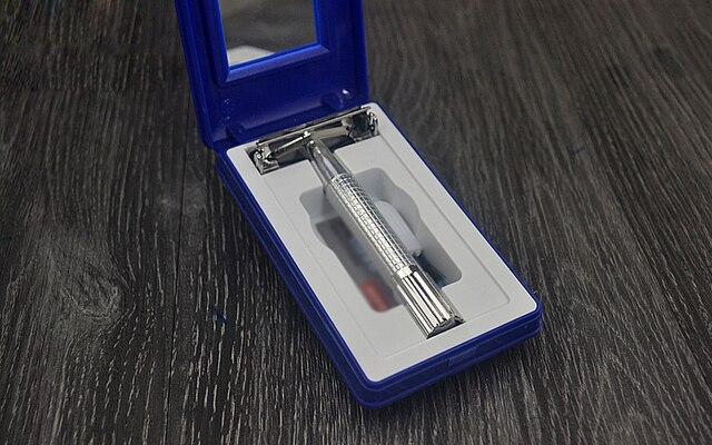 Safety Double Edge Razor For Men Straight Razor Men's Shaving Face Razor Blades Shaving Machine 6