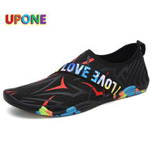 Модные черные мужские быстросохнущие туфли aqua на плоской подошве;