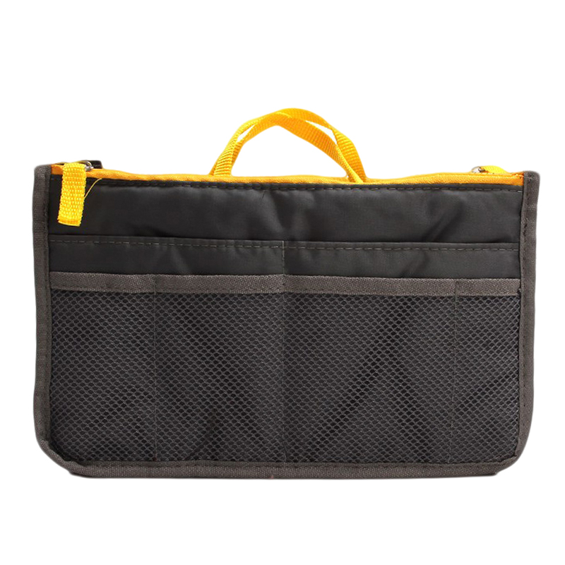 1 Pcs Portable Multifunctional Canvas Travel Bags Make Up Organizer Bag For Women Men Casual Cosmetic Makeup Toiletry Storage