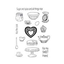 Scrapbook DIY photo cards account rubber stamp clear stamp t