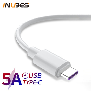 0.25m 0.5m 1m 1.5m 2m USB C Cable 5A Supercharge USB Type C Cable for Huawei QC3.0 Quick Charging Fast Charger Cable For Honor image