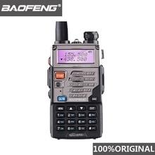 "BaoFeng UV 5RE ווקי טוקי 10 ק""מ VHF UHF136 174Mhz & 400 520Mhz Dual Band שתי דרך רדיו UV 5R UV 5R CB רדיו חם Hf משדר"