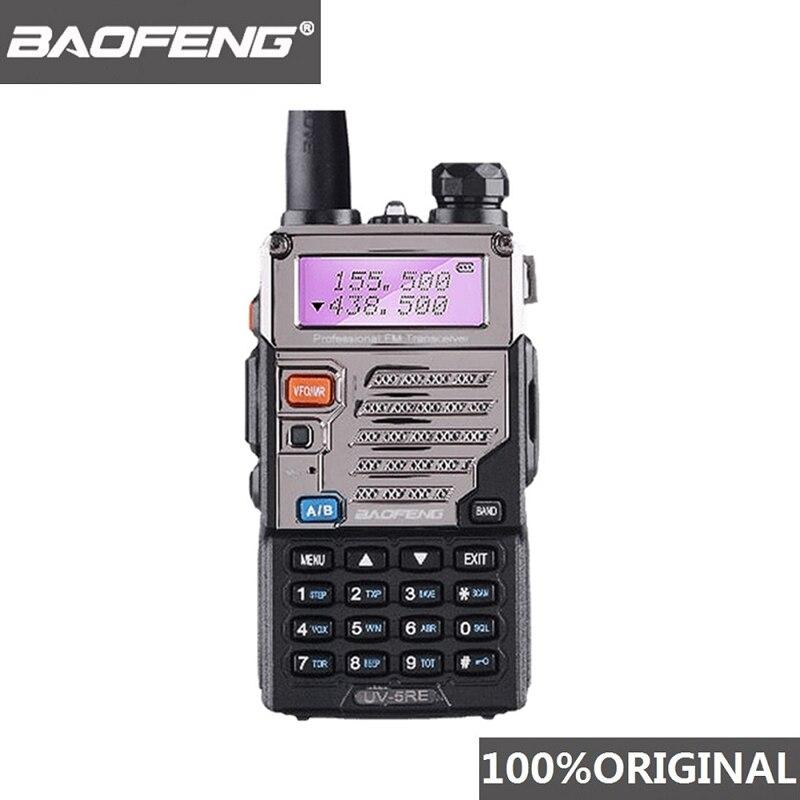 BaoFeng UV-5RE Walkie Talkie 10 Km VHF UHF136-174Mhz&400-520Mhz Dual Band Two Way Radio UV-5R UV 5R CB Radio Ham Hf Transceiver