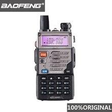 BaoFeng UV 5RE Walkie Talkie 10 km VHF UHF136 174Mhz & 400 520Mhz çift bant iki yönlü telsiz UV 5R UV 5R CB radyo Ham Hf telsiz