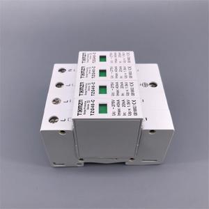 Image 5 - Dispositif de protection contre les surtensions à basse tension, AC SPD 4P, 20ka ~ 40ka, 275V