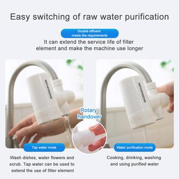 Tap water purifier kitchen faucet filter derusting bacteria removal смеситель для кухни