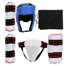 Taekwondo Sparring Gear Safety Full Set Training Martial Protector Guards